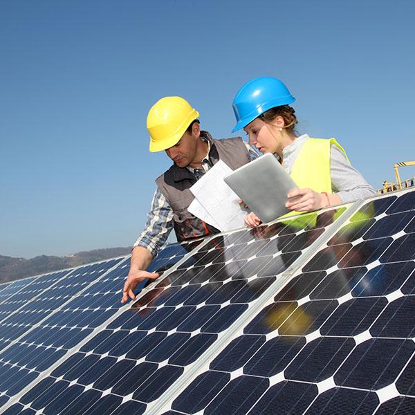 فیلم نحوه نصب سرج ارستر یا برق گیر در نیروگاه خورشیدی